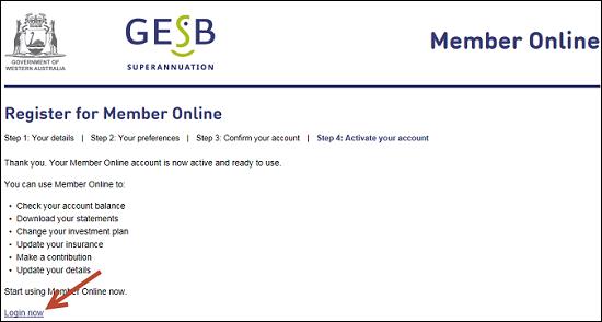 Member online gesb com au gaun online