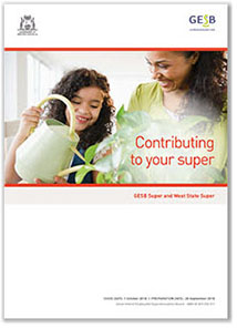 Contributing to your super brochure