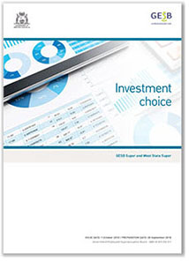Investment choice brochure image